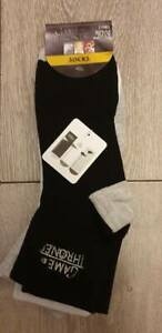 BRAND NEW WITH TAGS PRIMARK GAME OF THRONES 3 PACK SOCKS OR 3 PACK SHOE LINERS
