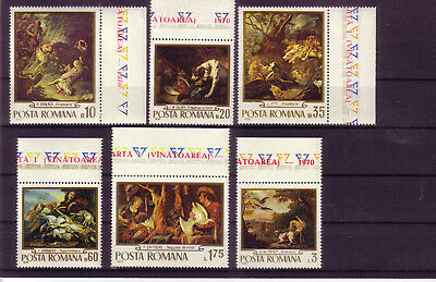 Ein GefüHl Der Leichtigkeit Und Energie Erzeugen europa:10466 Rumänien Michelnummer 2876-2881 Postfrisch