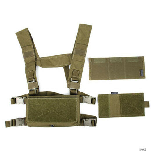 TMC Hunting Tactical Airsoft Vest Modular  SS Chest Rig Set B TMC3121-KK  all goods are specials