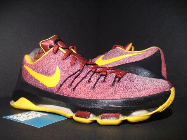 Nike Kevin Durant KD VIII 8 USC Trojans PE muestra Negro rojo carmesí de Oro Negro muestra DS 11,5 7fa254