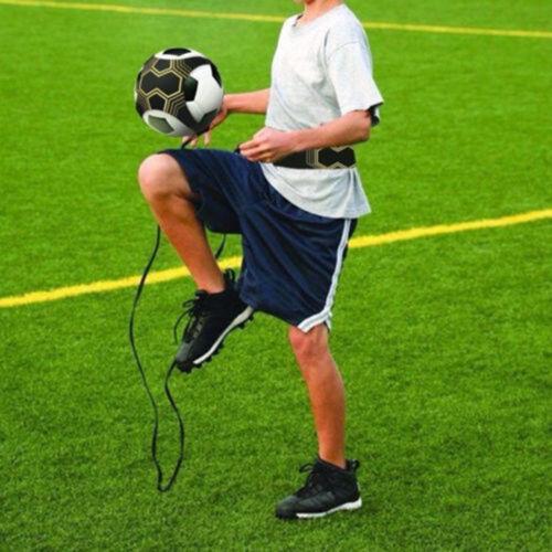 Football Kick Trainer Skills Solo Soccer Training Aid Equipment Waist Belt US