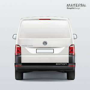 Volkswagen-VW-EDITION-Transporter-Tail-Gate-Stripe-Decals-T5-T6-Vehicle-Graphic