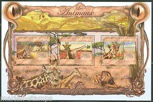 Guinee-2013-Girafe-feuille-neuf-sans-charniere