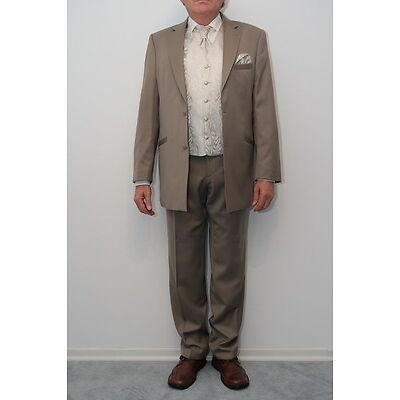 Herren Hochzeitsanzug Hosenanzug Gr.52 Gr.96 Hose Sakko Weste Krawatte Laue TOP!