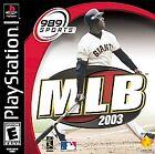 MLB 2003 (Sony PlayStation 1, 2002)