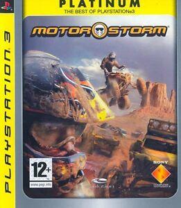 Motorstorm Platinum Edition (Guida / Racing) PS3 Playstation 3 IT IMPORT