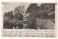 Boat Club in TAUNTON MA Vintage 1905 Massachusetts Postcard 1