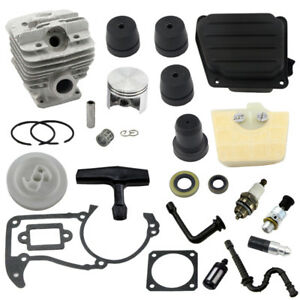 48mm-Bore-Cylinder-Piston-Kit-For-Stihl-MS360-036-Chainsaw-OEM-1125-020-1215-New