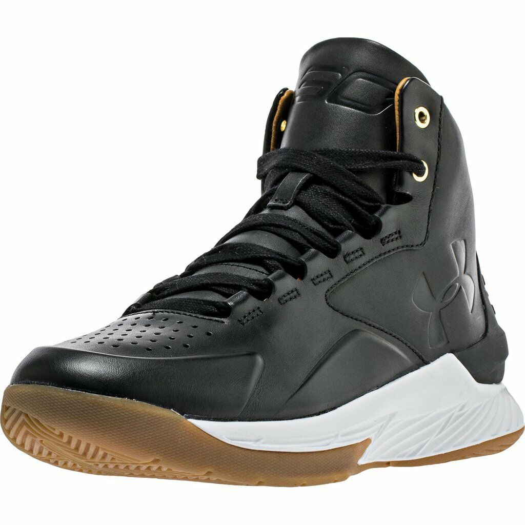 Under Armour Curry 1 Mid Lux Men's Black White 1298700 001