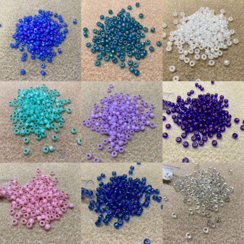 jewellery making//bead weaving UK seller 20g tubes Miyuki Seed Beads size 6°