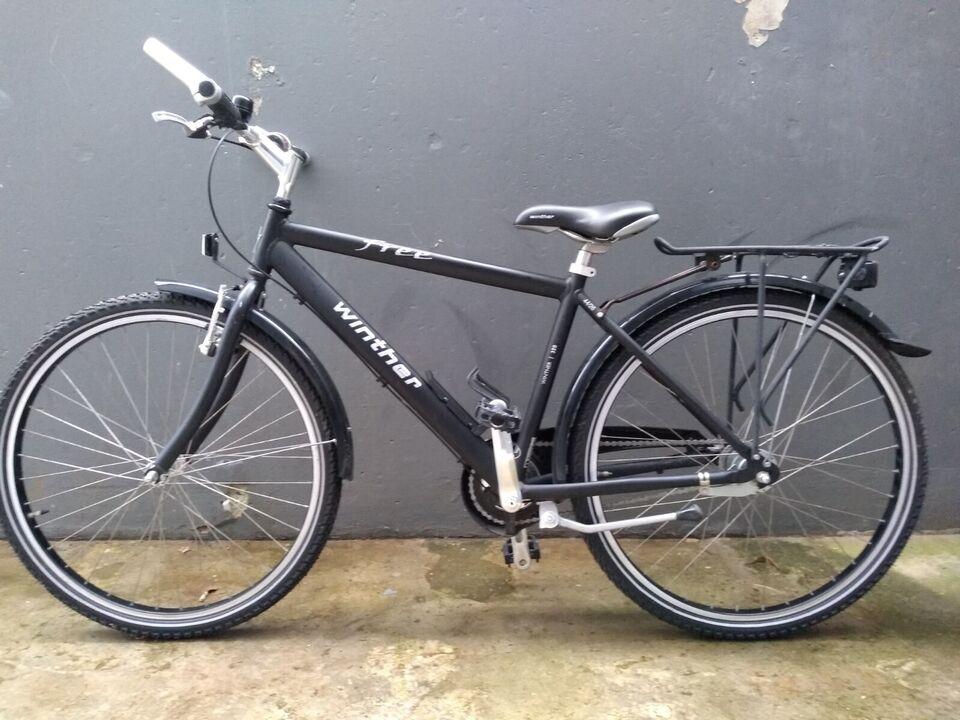 Drengecykel, citybike, Winther