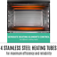 thumbnail 6 - 45L Convention Oven Bench Top Multi Ventilation Hotplates Countertop Baking New