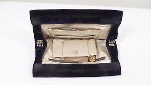 Vintage Bobbie Jerome Black Velvet Evening Bag w/ Lipstick & Compact