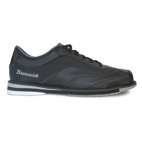 Brunswick Rampage Black Mens Right Handed Bowling Shoes WIDE WIDTH
