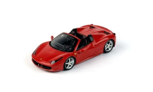 Ferrari 458 spider 2012 rouge CORSA FUJIMI 1 43 MODEL true scale miniatures