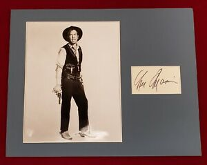 8-034-x-10-034-Photo-autographed-index-card-Lee-Marvin-Oscar-winner