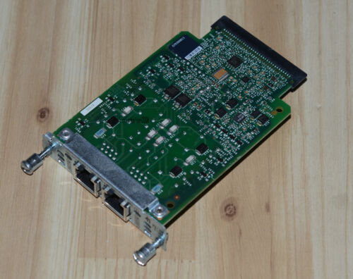 Cisco VIC3-2E//M 2-Port Ear and Mouth Voice Interface Card Gen 3-1 Year Warranty
