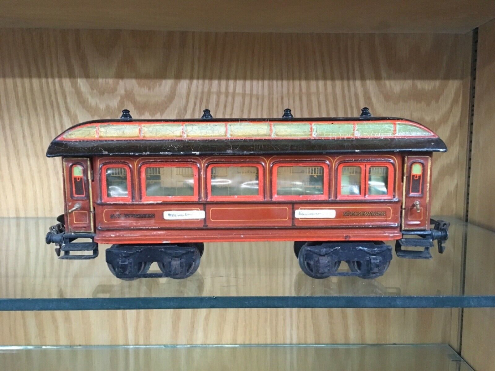 Märklin 1 Gauge Speisewagen München-Avricourt Dining Car c.1914-15 - VG