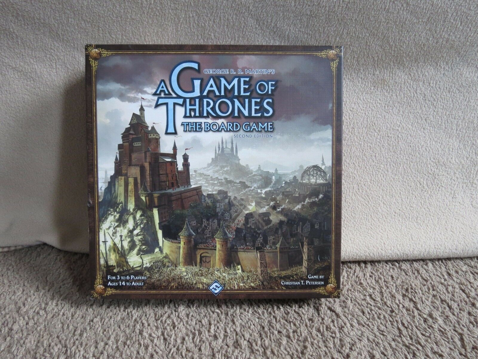 A Game of Thrones  The Board Game SecondEdition 2nd Fantasy Flight Martin