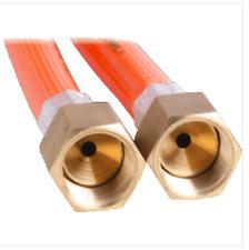 LPG NATURAL GAS HOSE 6mm PVC 3/8'' BSP FF x 3/8'' BSP FF 6HRC1800 1800mm