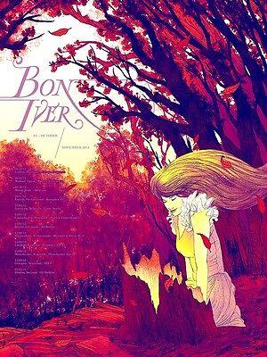 Bon Iver poster 3 size 8.3X11.7/&11,7X16.5