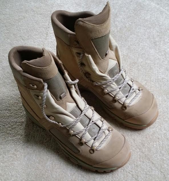 GENUINE BRITISH ARMY LOWA COMBAT BOOTS - BRAND NEW - SIZE UK 8  AND UK 5