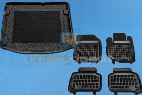 Gummi-Fußmatten+Kofferraumwanne SUZUKI VITARA II unterer Ladeboden 2014-heute