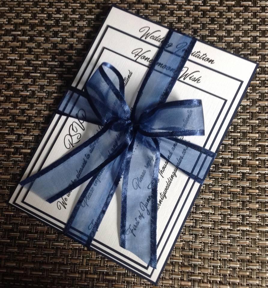 Rosie mariage invitation avec inviter carte, poème de carte et RSVP avec enveloppe X 40