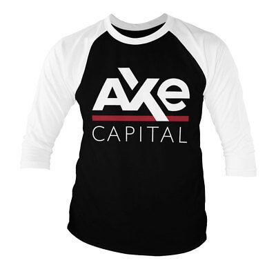 AXE Capital Long Sleeve Baseball T-Shirt S-XXL Officially Licensed Billions