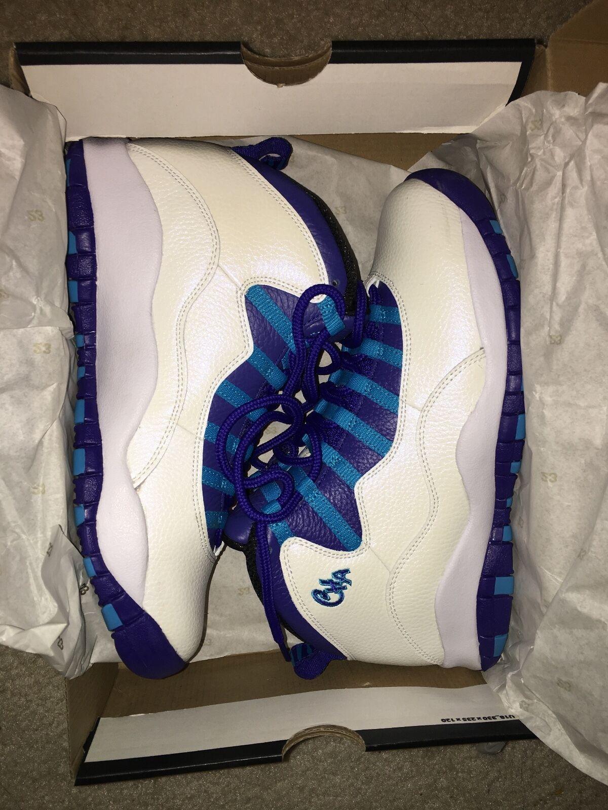 Nike Air Jordan 10 Retro City Pack Chicago AJ10 X US10 Mens Shoes 310805-114