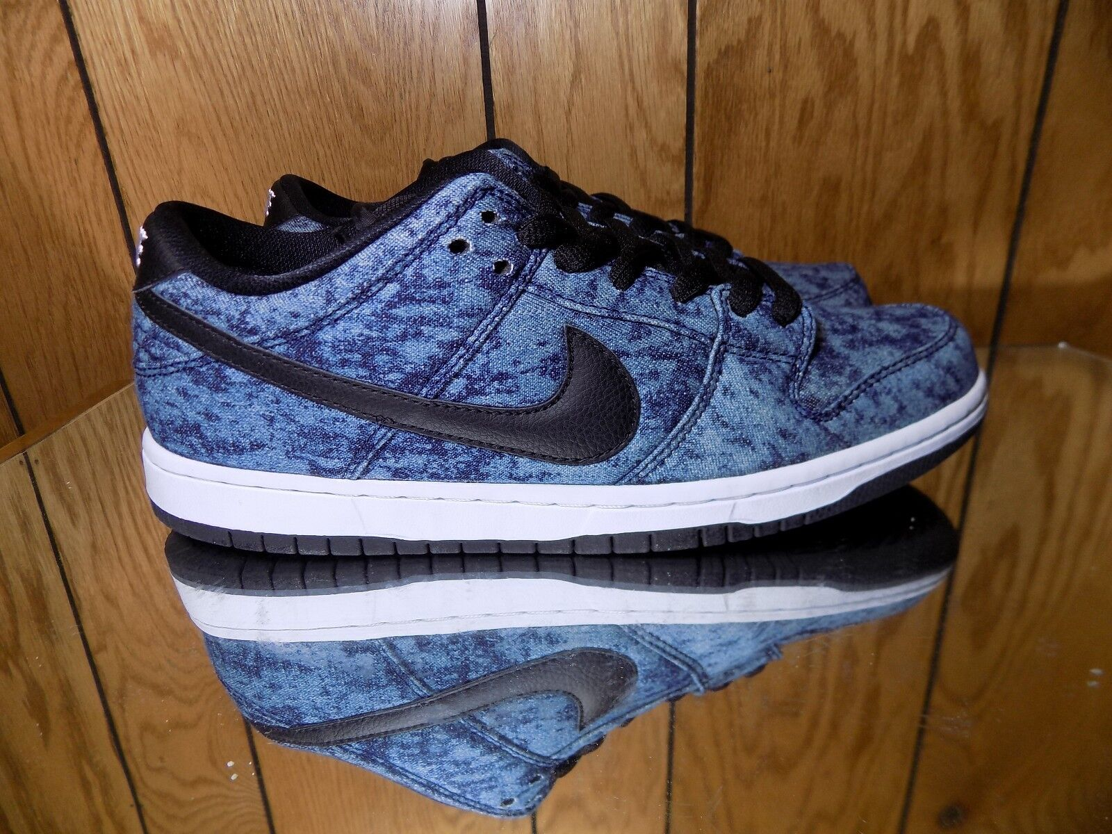 Nike DUNK LOW PREMIUM SB Midnight Navy Nero White 313170-402 (591) s 13 NEW