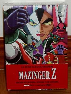 Mazinger-Z-la-Serie-Classique-Originale-BOX-1-Neuf-Scelle-12-DVD-sans-Scelle