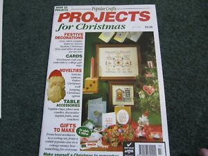 Popular Crafts Projects For Christmas Issue Three 1993 Ebay