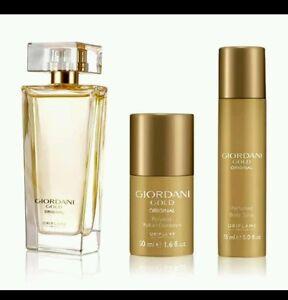 Oriflame Giordani Gold Original Set Parfume Body Spray Deodorant