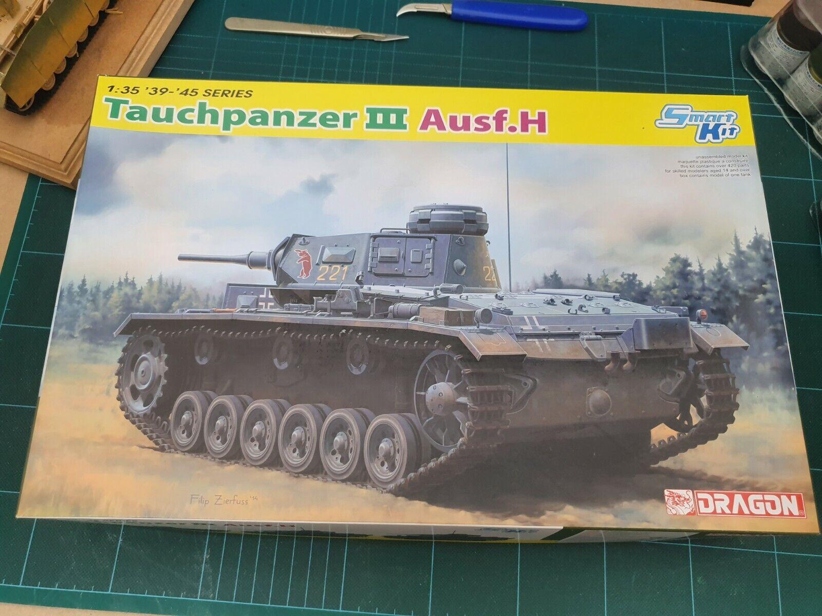 Dragon 6775  Pz.Kpfw.III (T) Ausf.H