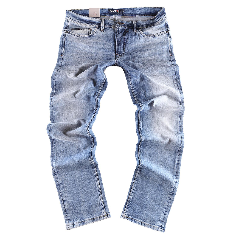 Big Seven Morris blue Medio - Regolare Dritto Jeans Pantaloni men Taglie Forti