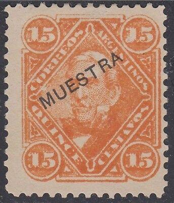 Aufstrebend Argentinien San Martin 64s 1888-90 Specimen