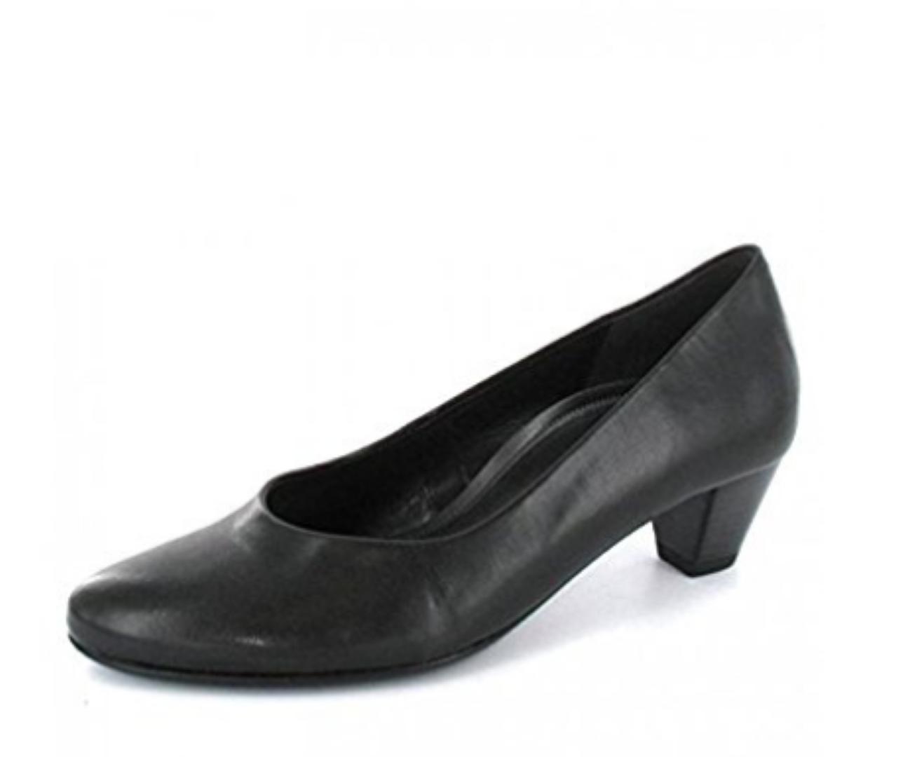Gabor Women's Black Nappa Nappa Nappa H.T. Court shoes's Size UK 6 EU 39 NH08 14 SALEx f7a1a2