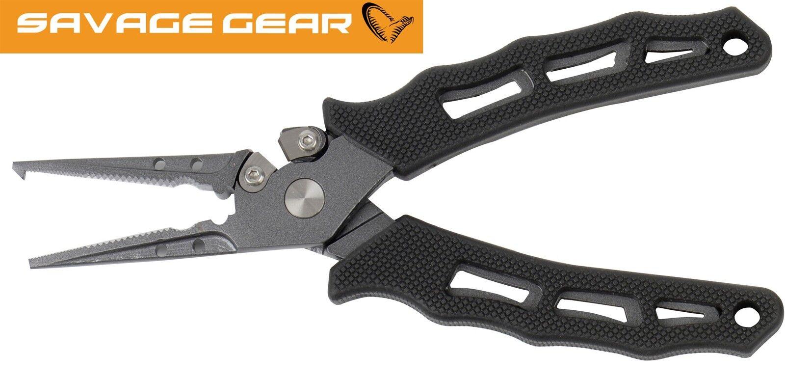 Savage Gear MP Pro Rig Plier - Sprengringzange, Sprengringzange, Sprengringzange, Angelzange für Sprengringe a97e2f