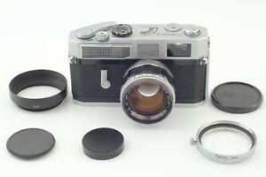 near-Mint-Canon-Modell-7-mit-50mm-f1-4-l39-Leica-Screw-Mount-LTM-Lens-aus-Japan