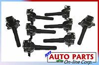 8 Ignition Coils Set Audi A8 & A8 Quattro 3.7l 4.2l 97-99 Allroad Quattro 01-02