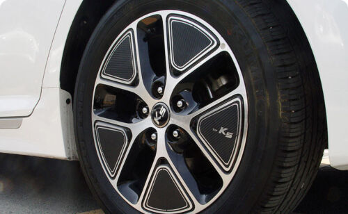 Left Right Carbon Tuning Wheel Sticker 17/'/' 1Set For Kia Optima K5 Hybrid