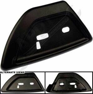 2006-2009 TRAILBLAZER ENVOY RAINIER BLACK DRIVERS SEAT SWITCH COVER NEW 19121427