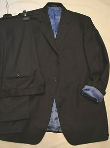 Austin Reed London Classic Gent S Tailored Charcoal Suit 2 Trs Uk 44l Eu 54l Ebay
