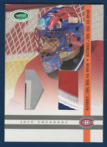 JOSE-THEODORE-2003-04-PARKHURST-ROOKIE-03-04-ROAD-TO-THE-NHL-EMBLEM-RNE-6-22327