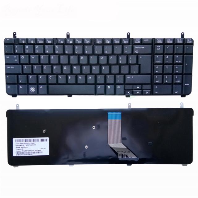 "HP Pavilion 17.3/"" dv7-4000 Series Genuine US Keyboard 605344-001 Grade A"
