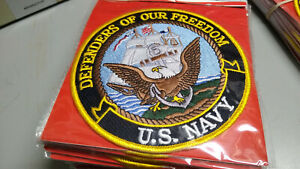 """PATCH U.S. Navy 5"""" - Old Style eagle and sailing vessel"""