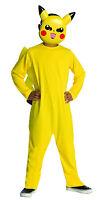 Kids Pikachu Costume Pokemon Size Large 12-14