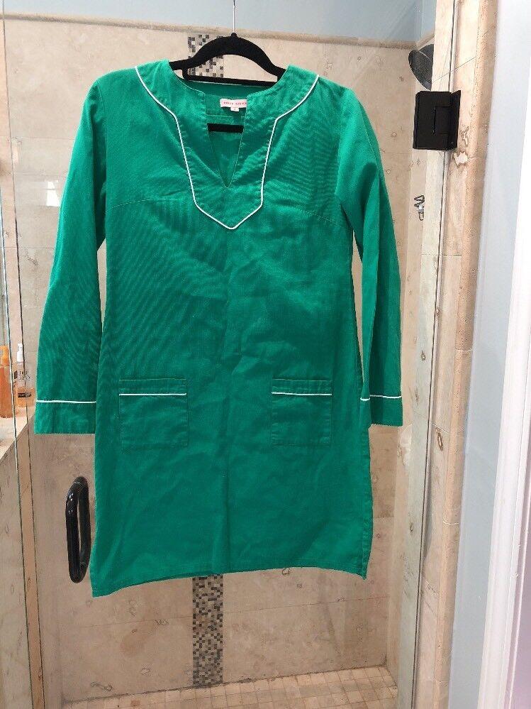 Kayce Hughes - Robe tunique blanche à armatures et cordons texturés - SZ 2