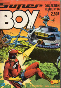 SUPER-BOY-Album-N-34-Recueil-034-218-219-220-221-222-223-224-225-034